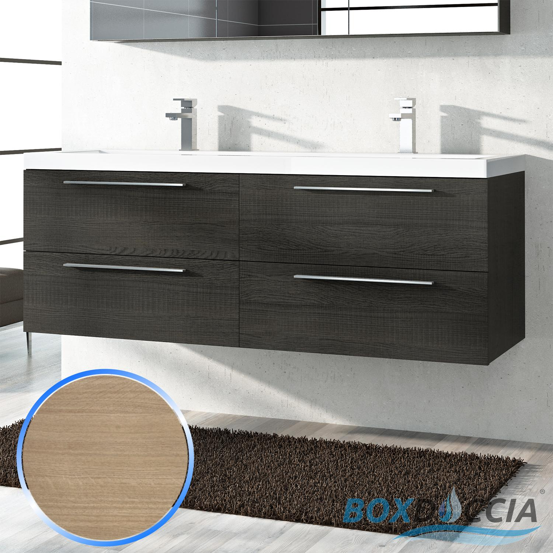 Base mobile da bagno sospeso arredo moderno design legno - Colori bagno moderno ...
