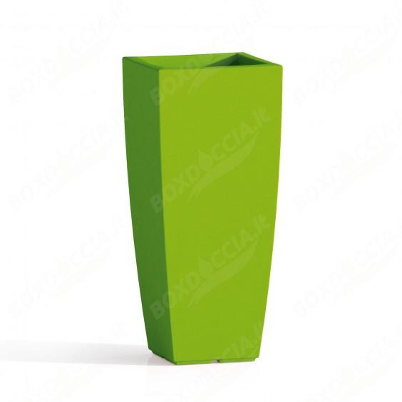 Vaso Agave In Resina Quadrato Verde H90 40x40Cm