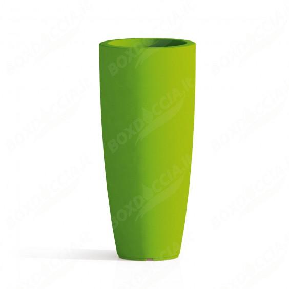 Vaso Agave In Resina Tondo Verde H70 Ø 33Cm