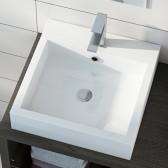 Piano lavabo in acrilico 45cm Paris 2