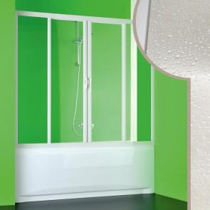 Porta doccia sopravasca in Acrilico mod. Plutone 2 con apertura centrale