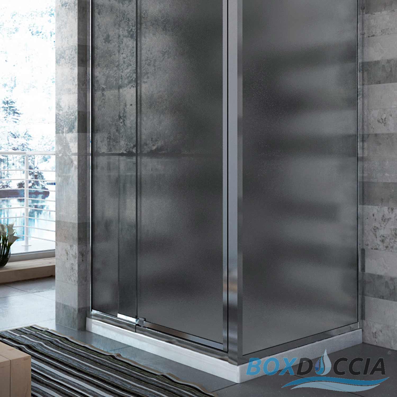 Box cabina doccia vetro 70x100 battente idralite angolare for Finestra 70x100