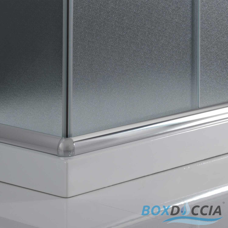 box cabina doccia bagno vetro 70x90 rettangolare angolare cristallo scorrevole ebay. Black Bedroom Furniture Sets. Home Design Ideas