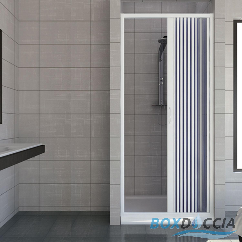 Box Doccia Muro: Plastic folding shower doors. Supporto doccia ...