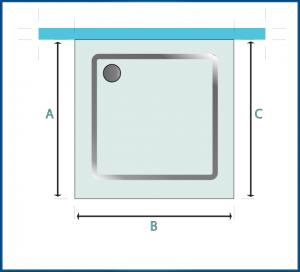 Piatto doccia misure minime boiserie in ceramica per bagno - Box doccia misure standard ...