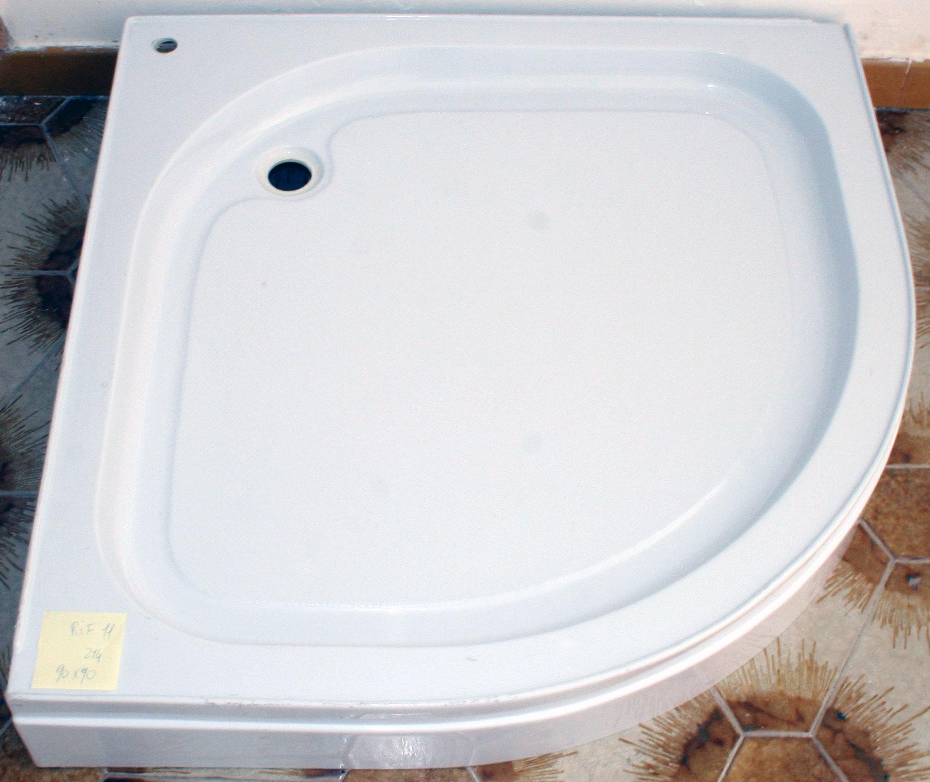 Piatto doccia con bordo 90x90