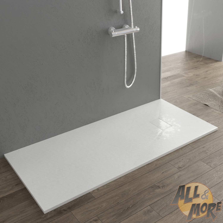 duschtasse duschwanne stein effekt reduzierbar kÜrzbar glasfasern