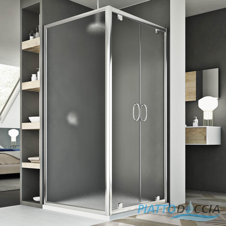 Duschkabine duschabtrennung 2 schwingt ren fronteinstieg - Piatto doccia 75x120 ...