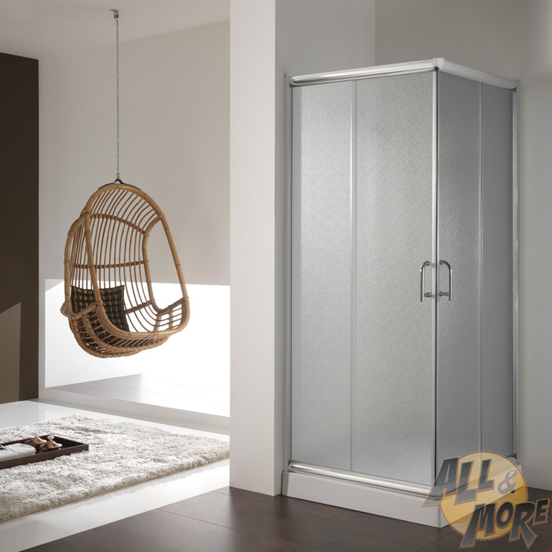 cabine de douche paroi 80x80 h200 cm verre opaque. Black Bedroom Furniture Sets. Home Design Ideas