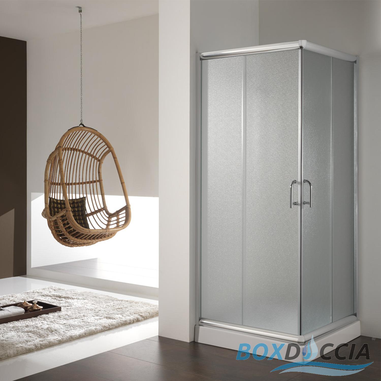 duschkabine duschabtrennung 80x80 h200 echtglas duschwand matt glas schiebet r 8056732470040 ebay. Black Bedroom Furniture Sets. Home Design Ideas