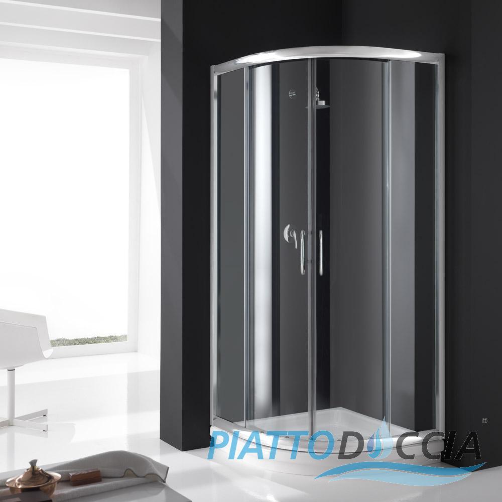 cabine de douche paroi de douche angulaire verre coulissant italienne ebay. Black Bedroom Furniture Sets. Home Design Ideas