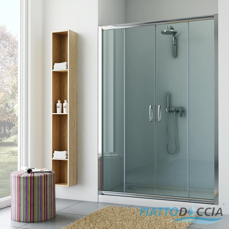 duschkabine dusche nischenabtrennung duschwand nischent r duscht r schiebet r ebay. Black Bedroom Furniture Sets. Home Design Ideas