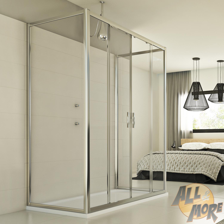 duschkabine dusche duschabtrennung u form schiebet ren. Black Bedroom Furniture Sets. Home Design Ideas