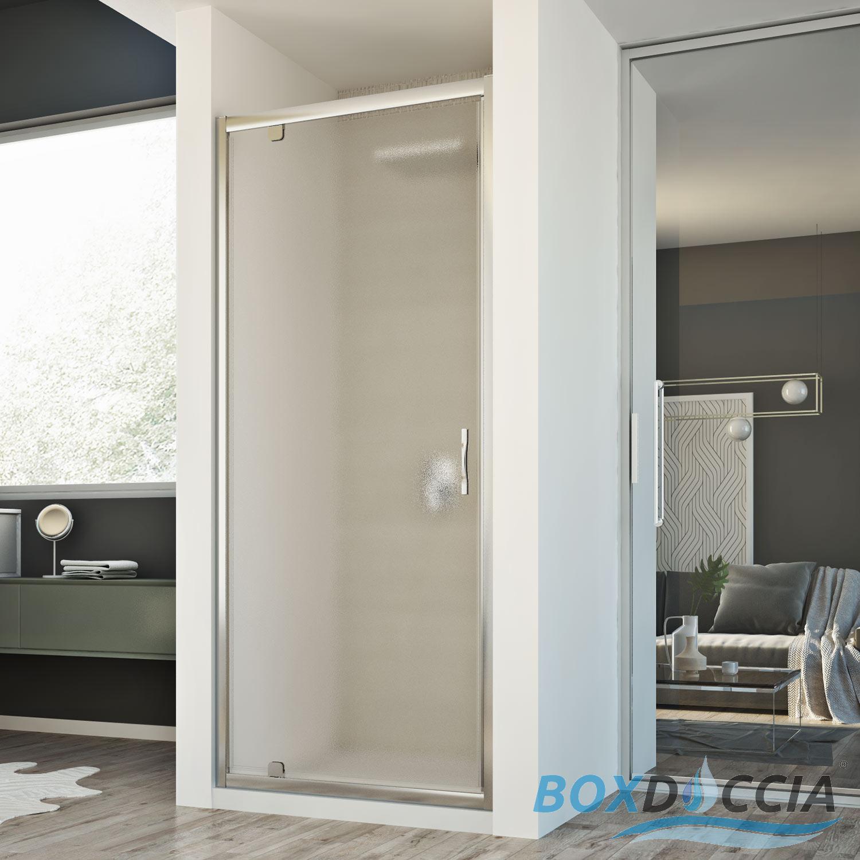 cabine de douche paroi de douche niche 1 porte pivotante. Black Bedroom Furniture Sets. Home Design Ideas