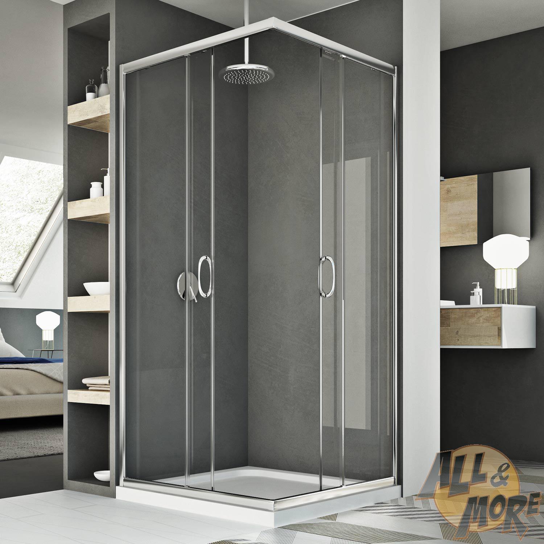 cabine de douche angulaire 70x70 cm ouverture coulissante. Black Bedroom Furniture Sets. Home Design Ideas
