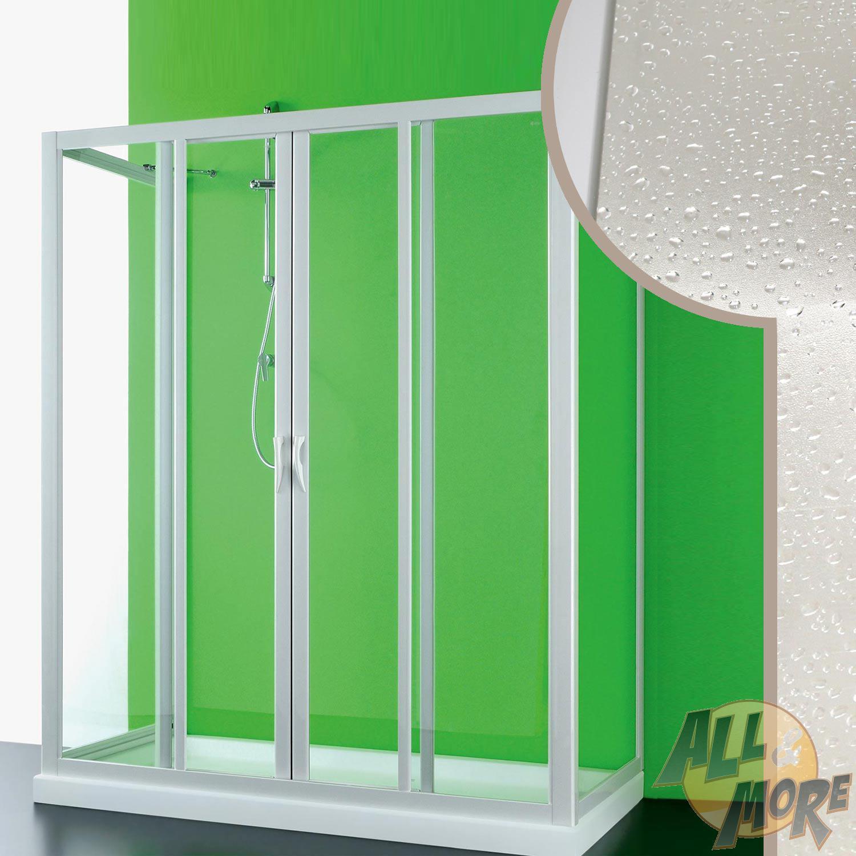 Cabine de douche 90x160x90cm en pvc crilex acrylique 2 - Piece cabine douche ...