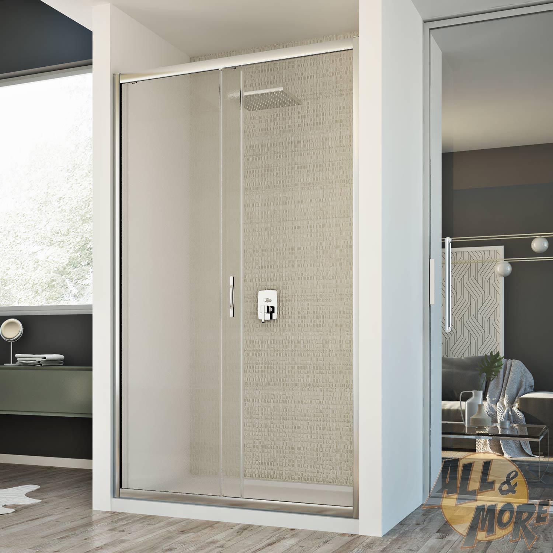 cabine de douche paroi de douche 110 cm h198 mur 1 porte opaque coulissant ebay. Black Bedroom Furniture Sets. Home Design Ideas