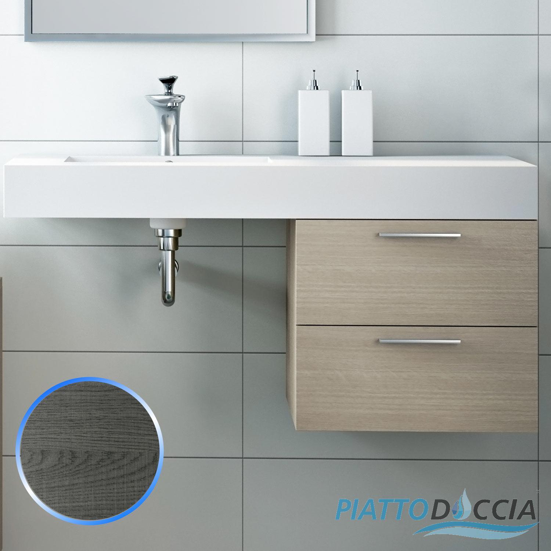 Base mobile da bagno sospeso arredo moderno design legno for Mobile bagno moderno ebay