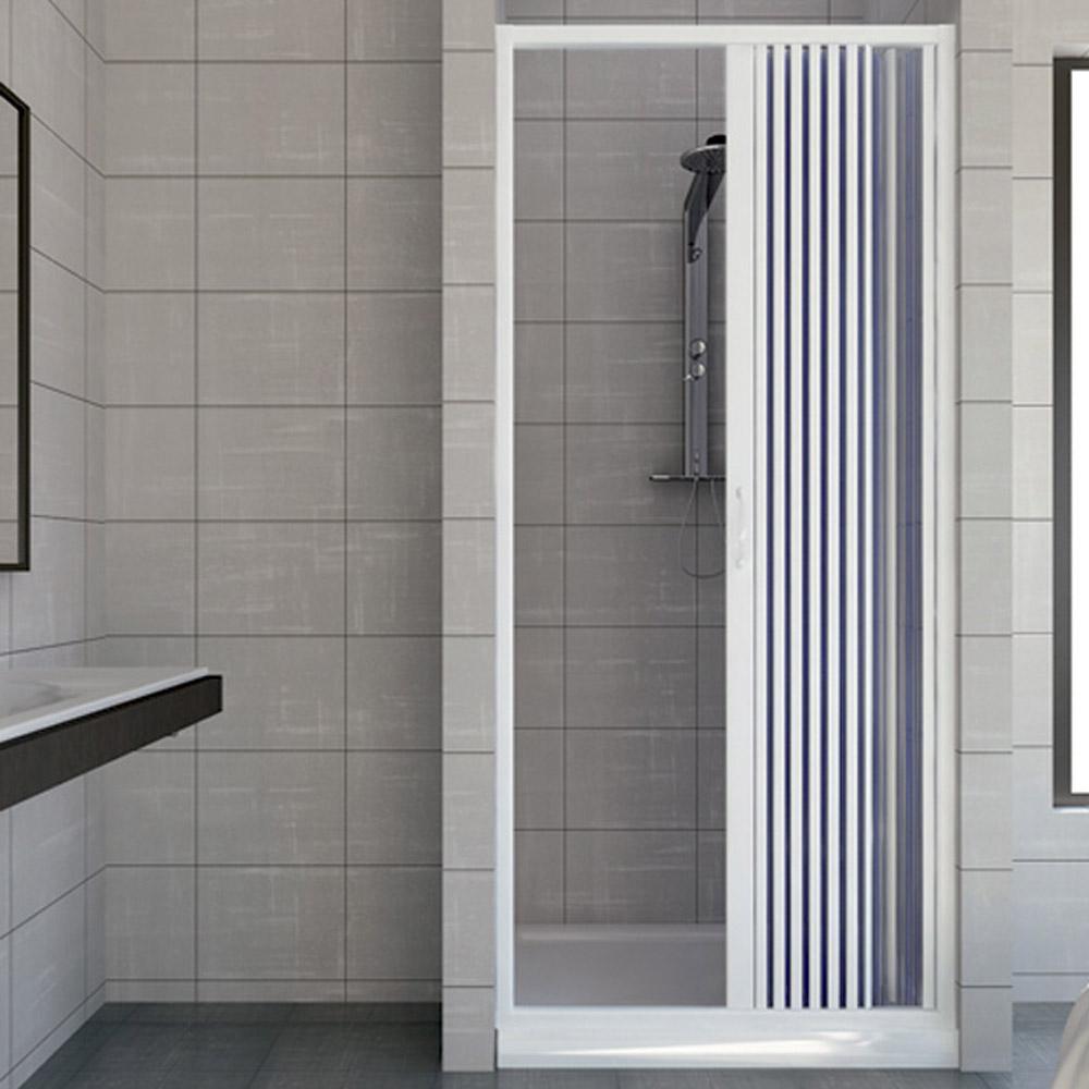 cabine de douche paroi de douche en pvc vergine 120 cm. Black Bedroom Furniture Sets. Home Design Ideas