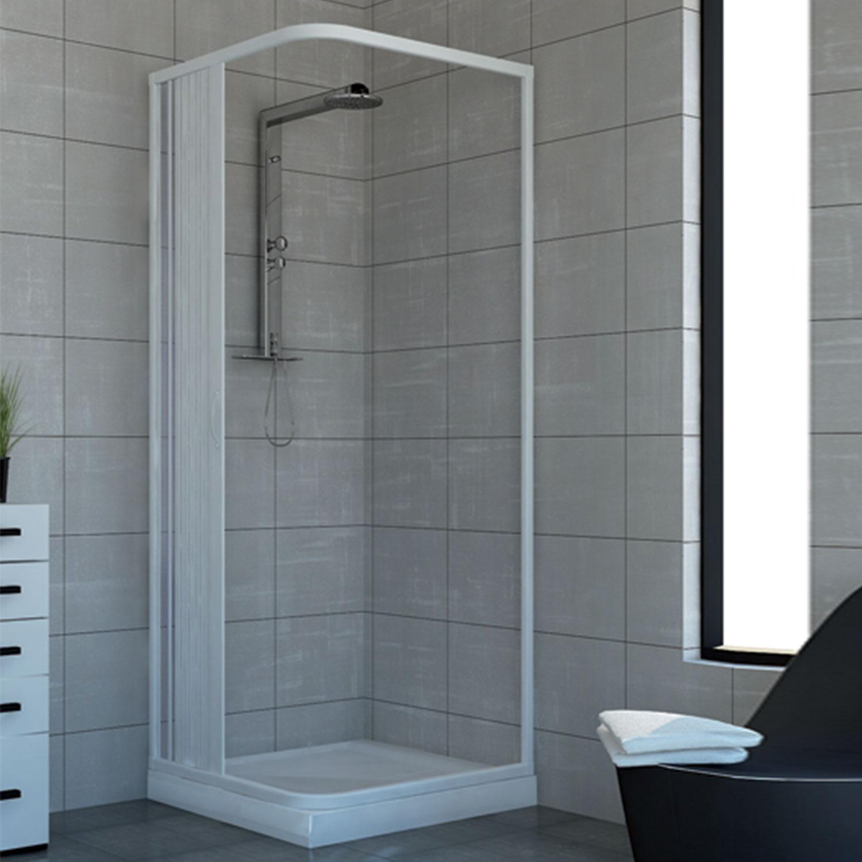 duschkabine dusche duschabtrennung duschwand eckig rechteck faltt r acquario lat ebay. Black Bedroom Furniture Sets. Home Design Ideas