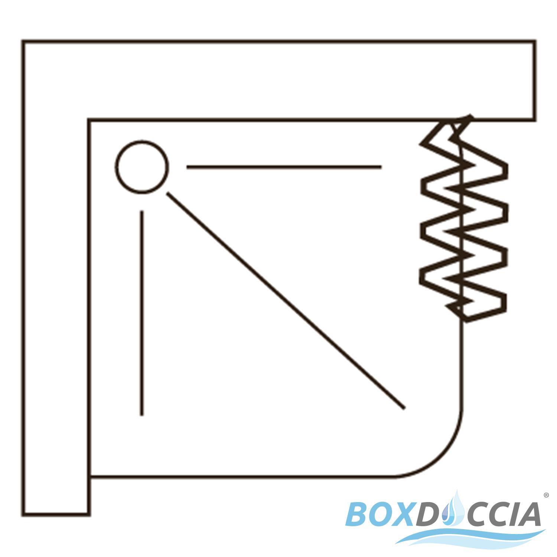 duschkabine dusche duschabtrennung duschwand eckig rechteck kunststoff 80x80 cm ebay. Black Bedroom Furniture Sets. Home Design Ideas