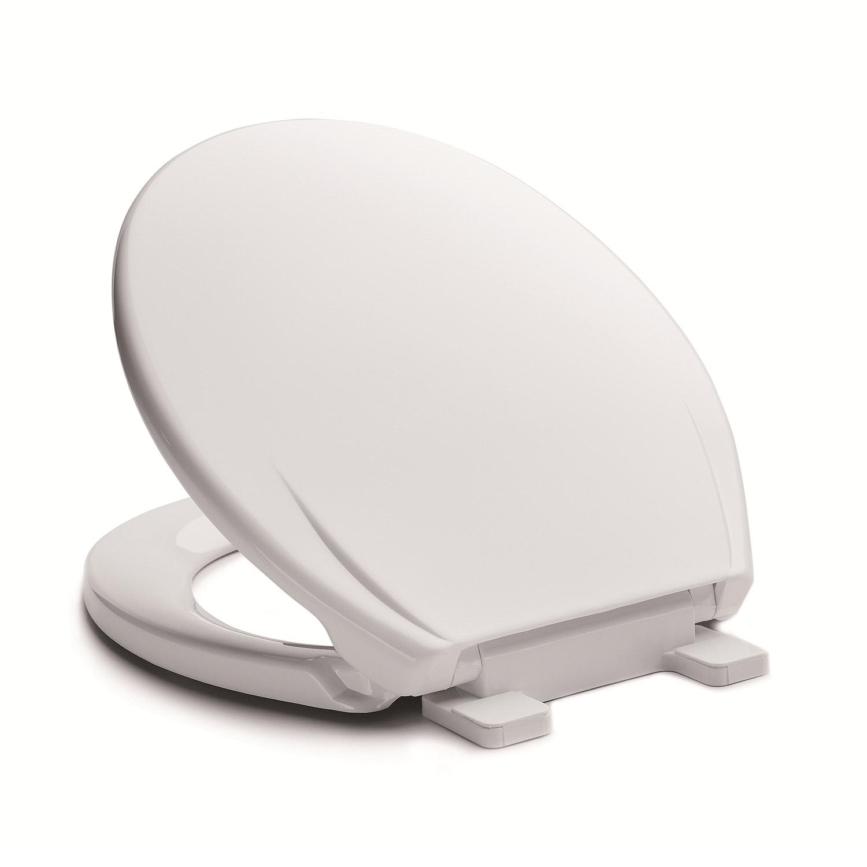 wc sitz klodeckel toilettendeckel klobrille wei soft close absenkautomatik ebay. Black Bedroom Furniture Sets. Home Design Ideas