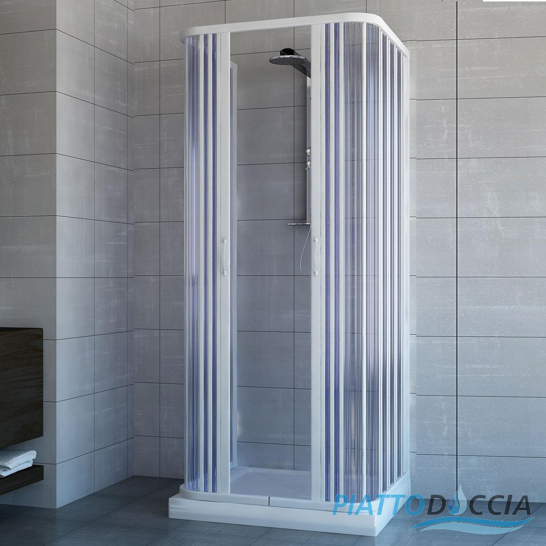 cabine de douche 3 parois paroi de douche en pvc 70x100 2. Black Bedroom Furniture Sets. Home Design Ideas