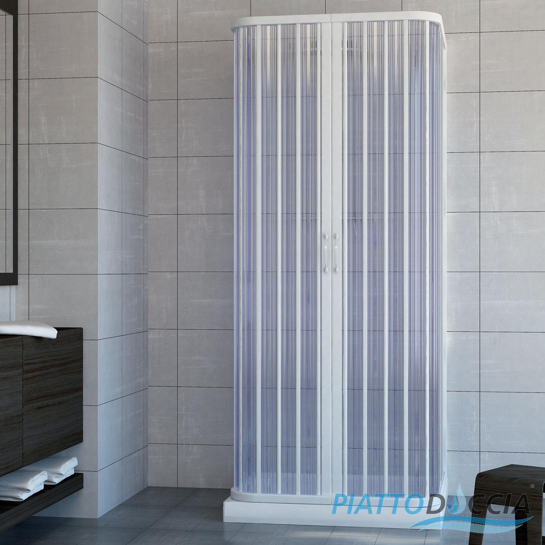 duschkabine dusche duschabtrennung duschwand faltwand u form faltt r 3 seiten ebay. Black Bedroom Furniture Sets. Home Design Ideas