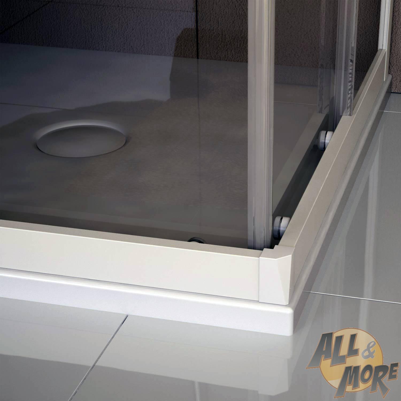 cabine de douche en pvc 70x90cm verre transparent. Black Bedroom Furniture Sets. Home Design Ideas