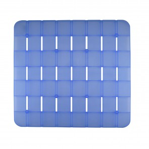 Pedana rigida doccia azzurra quadrata 55x55 CM