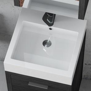 Piano lavabo in acrilico 45cm