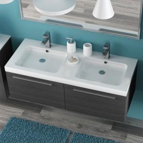 Piano lavabo acrilico bianco 120cm