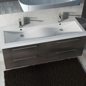 Piano lavabo acrilico bianco 144cm