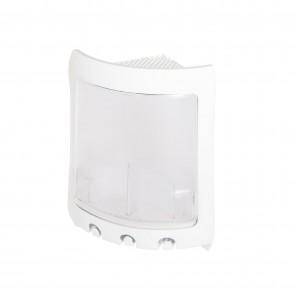 Angolare doccia bianco e trasparente mod. Loop