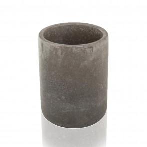Porta Spazzolini Da appoggio in cemento mod. Piedra