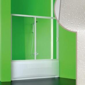 Porta doccia sopravasca in Acrilico mod. Plutone con apertura laterale