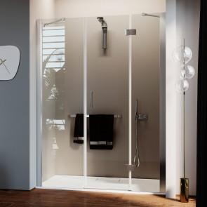 Porta Doccia con Easy-Clean mod. Flip Anta + Fisso