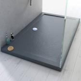 Duschwanne 120x80x4 Acryl Rechteckig Mod. Stone UltraSlim
