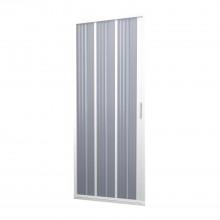 Porta Doccia in PVC 80CM H185 a soffietto con Apertura Laterale colore Bianco mod. Flex