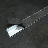 Canalina Acciaio Inox Piastrellabile mod. Silver