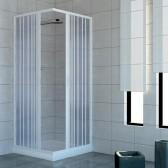 Box doccia in PVC mod. Acquario con apertura centrale
