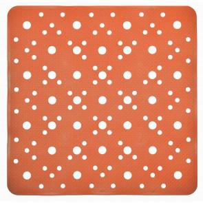 Tappetino doccia arancio quadrato 52x52 CM mod. Bus