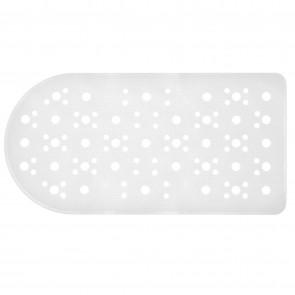 Tappetino vasca bianco rettangolare 36x72 CM mod. Bus
