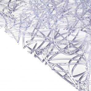 Tappetino lavello trasparente quadrato 32x32 CM mod. Kaos