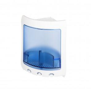 Angolare doccia bianco e azzurro mod. Loop