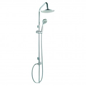 Merkur Led - Saliscendi Acciaio Inox E Abs Con Led 48,5 x 101 x 20 CM