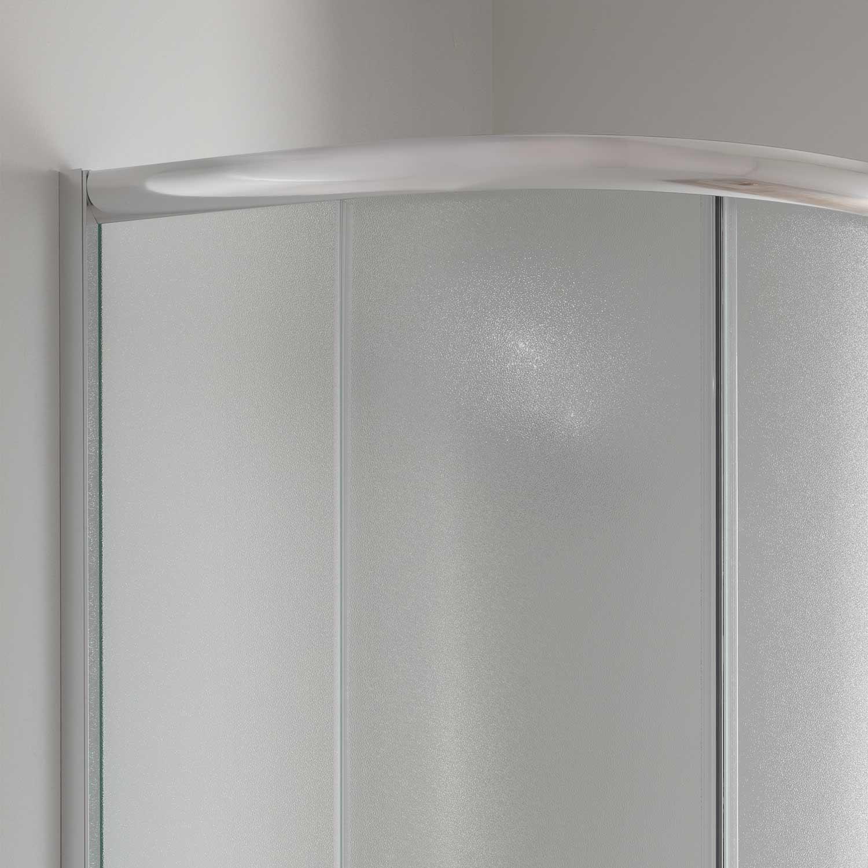 duschkabine duschabtrennung 80x80 h200 echtglas matt glas viertelkreis rund ebay. Black Bedroom Furniture Sets. Home Design Ideas