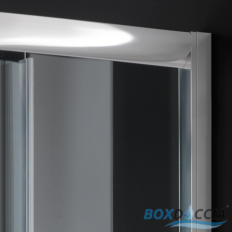 duschkabine duschabtrennung 80x80 h185 echtglas klarglas. Black Bedroom Furniture Sets. Home Design Ideas
