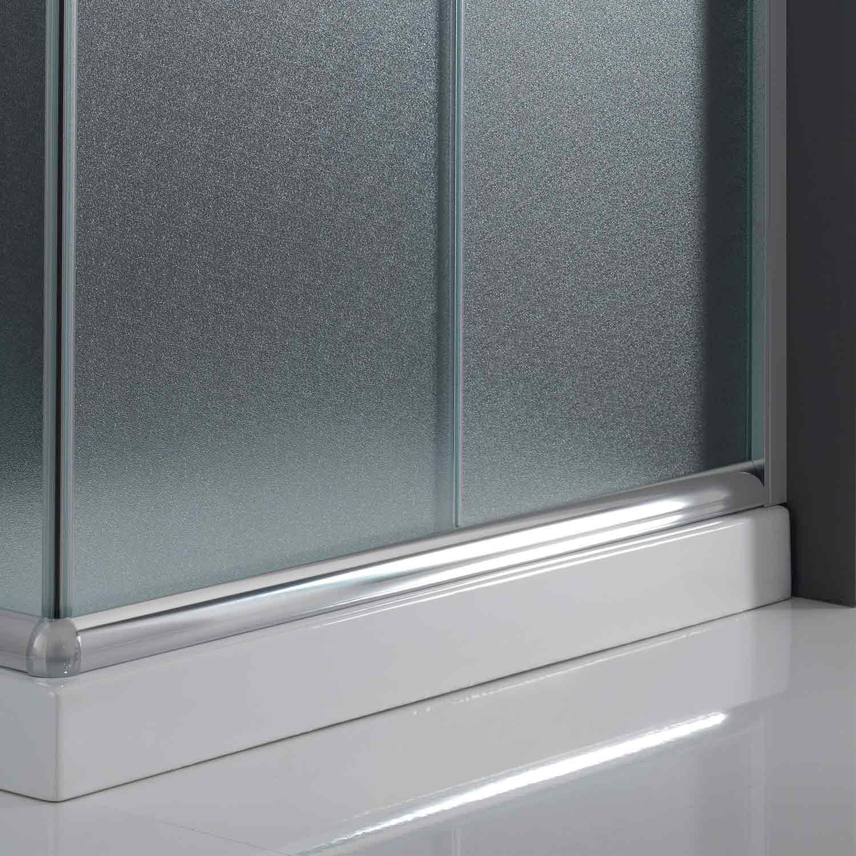 duschkabine duschabtrennung 80x80 h185 echtglas duschwand. Black Bedroom Furniture Sets. Home Design Ideas