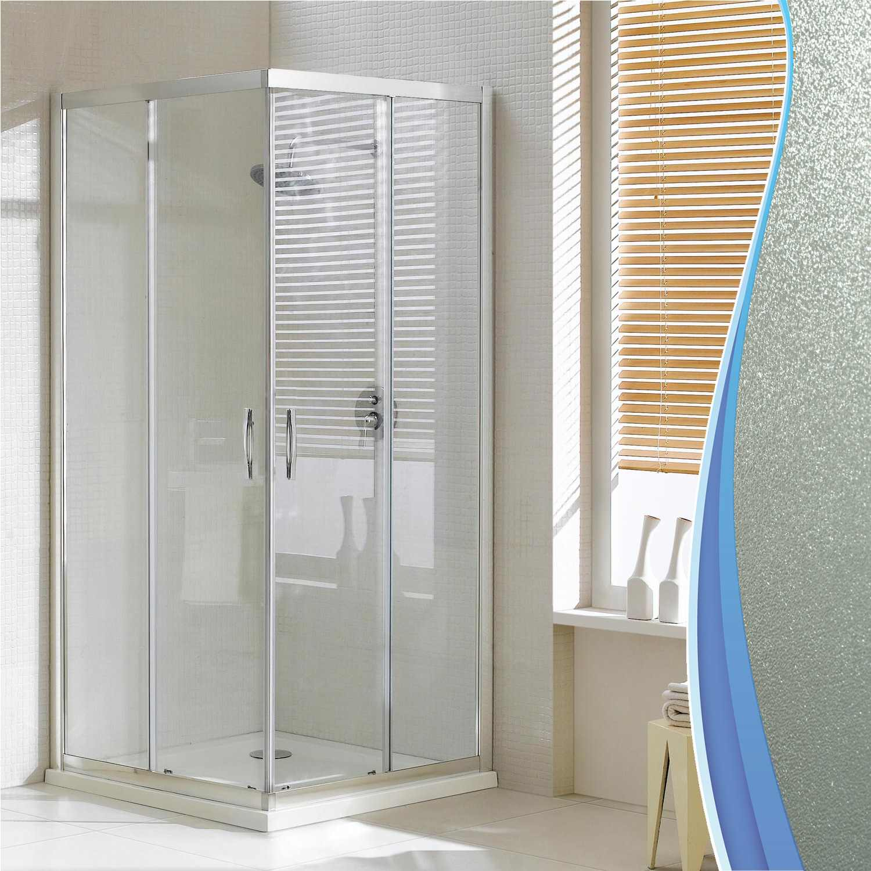 Rechteckig duschabtrennung duschkabine eckeinstieg for Fenster 70x90